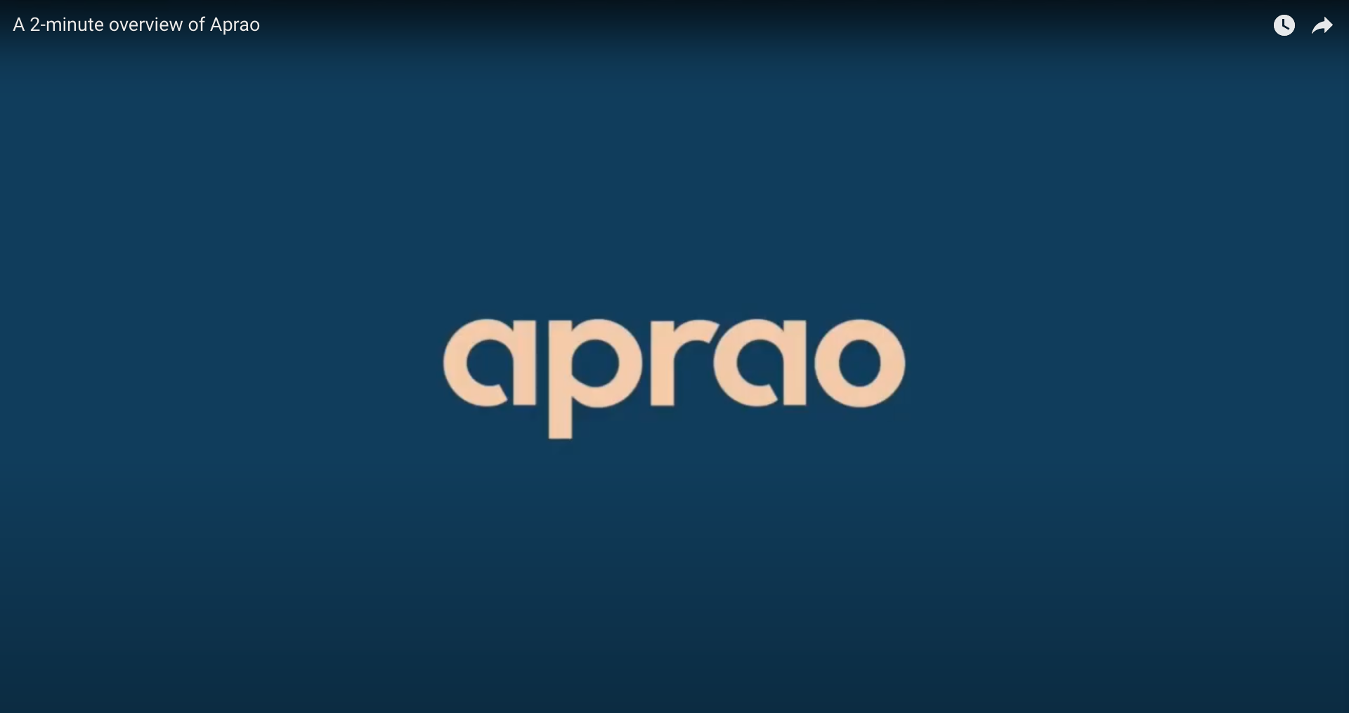 A 2 minute overview of Aprao's financial modelling software for developers